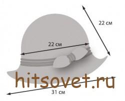 Размеры шляпы