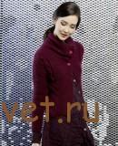 Модный жакет спицами для женщин 2015