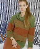 Пуловер женский 2015 свободный