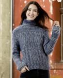 Пуловер женский 2015 с описанием