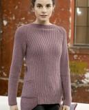 Женский пуловер спицами 2015 с описанием, фото 1.