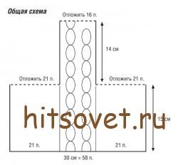 Носки сапоги схема вязания