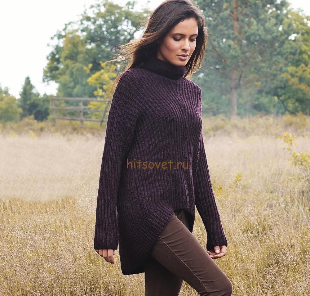 сколько метров пряжи на свитер