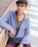 Короткий жакет вязание спицами, фото 1.
