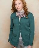 Жакет женский спицами, фото.