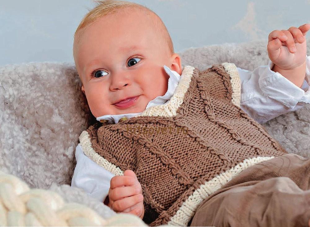 Жилет для малыша, фото 1.