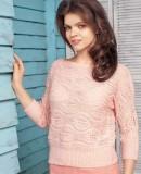 Джемпер розовый женский, фото.