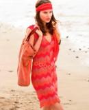 Платье с узором зигзаг, фото.