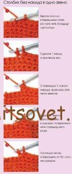 Пошаговое описание вязания платья.