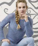 Красивый пуловер женский, фото.