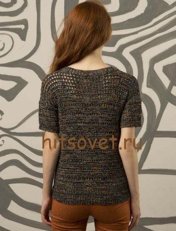 Вязание модного пуловера, фото 2.
