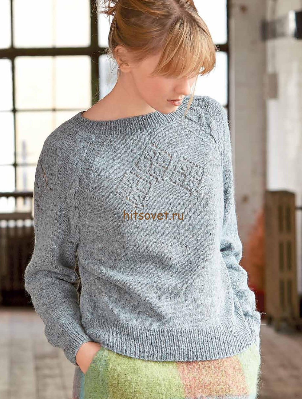 Женский свитер спицами со схемами 2015 2016 фото 433