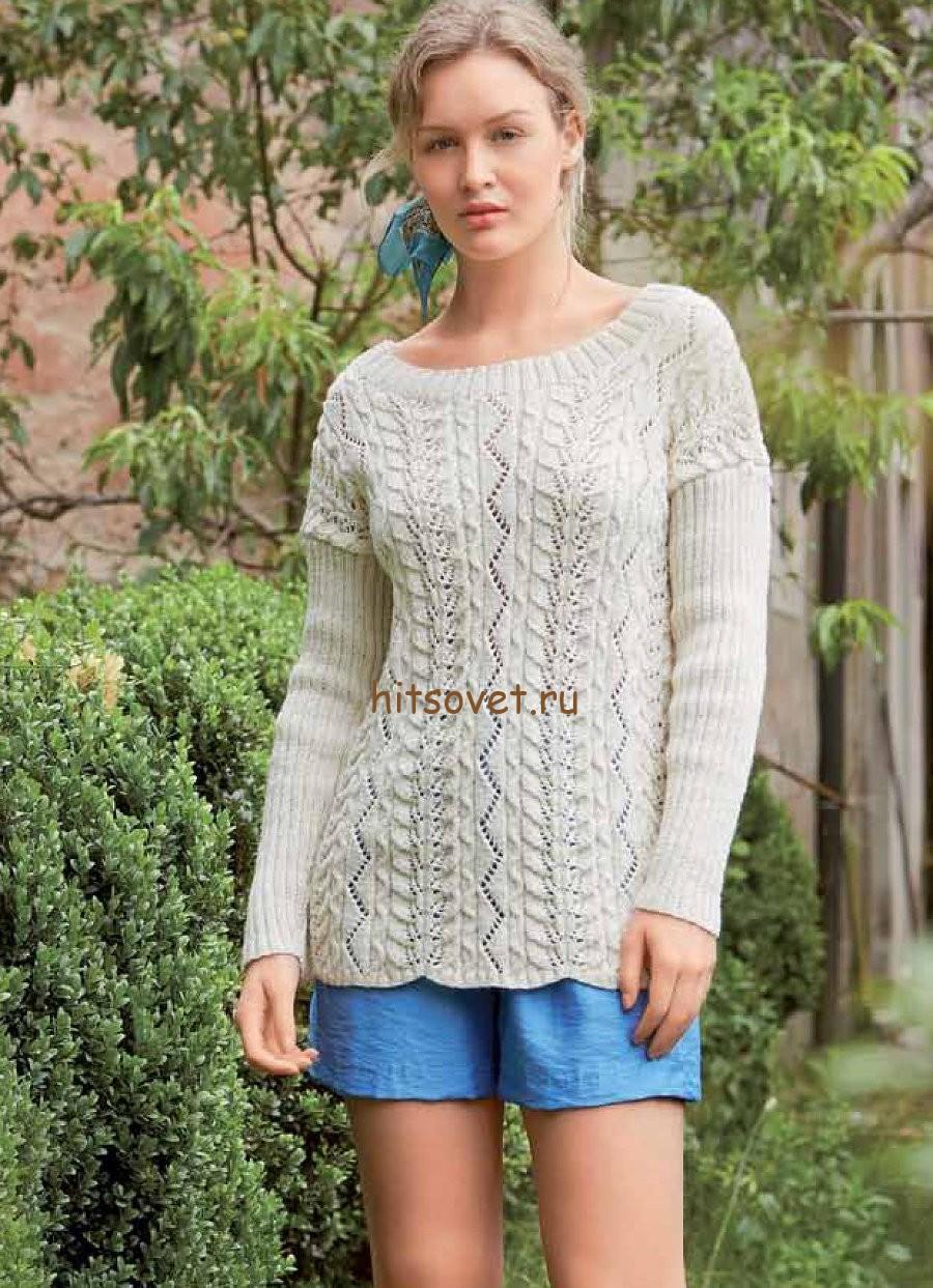 Пуловер женский, фото 2.