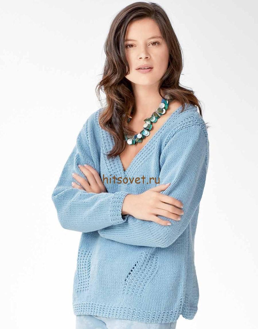 вязаное платье схема размер 46-48