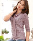 Джемпер женский спицами схемы, фото.