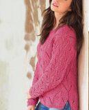 Пуловер с удлиненной спинкой, фото.