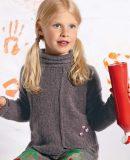 Вязание пуловера для девочки. фото.