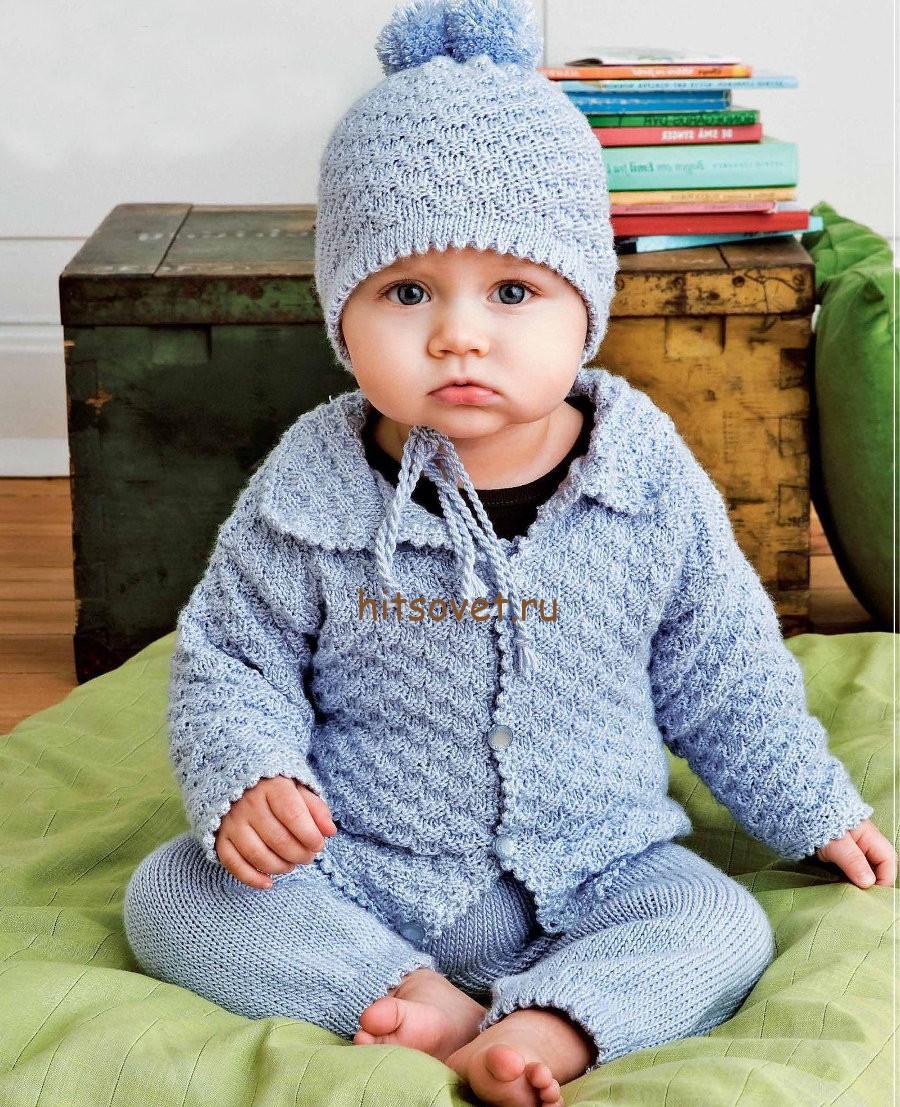 кардиган на мальчика 1-1 5 года схема с описанием