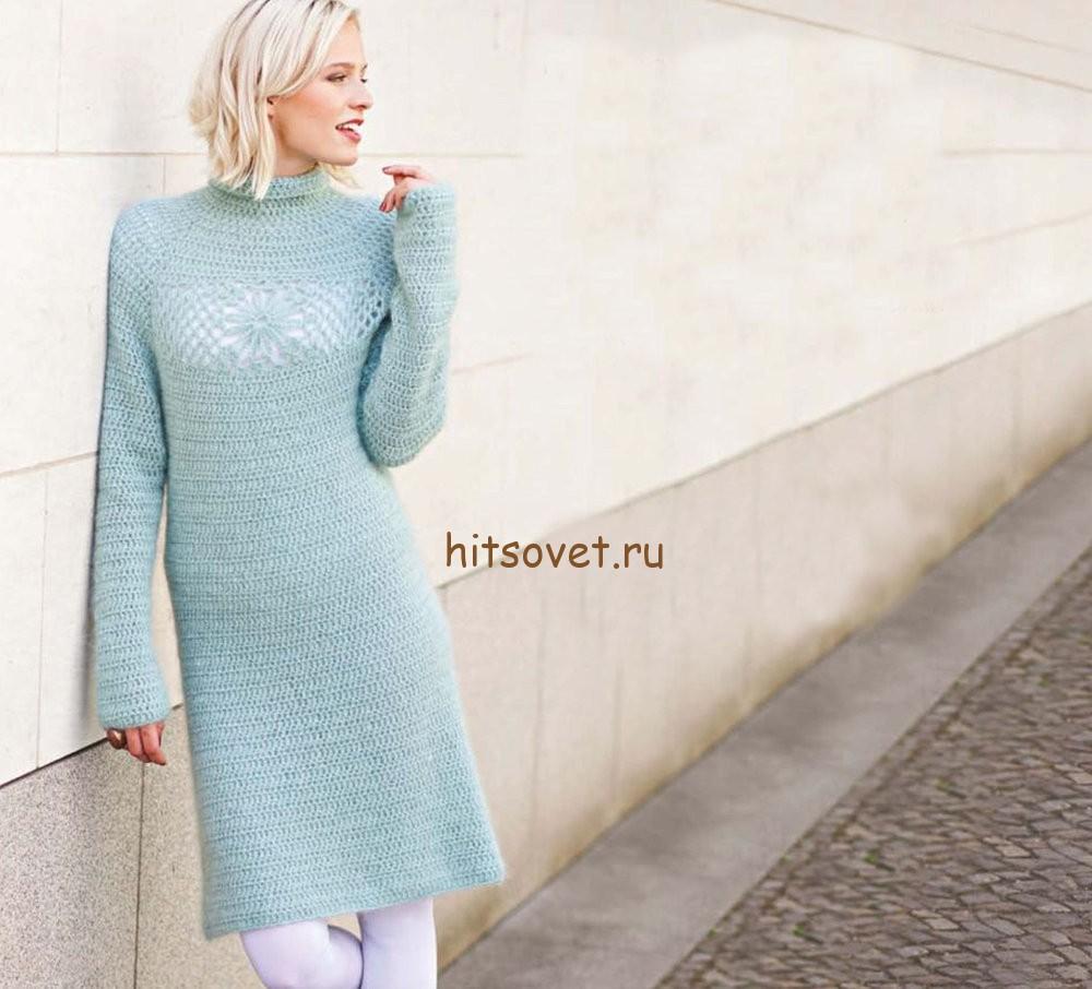 Красивое платье крючком, фото 1.