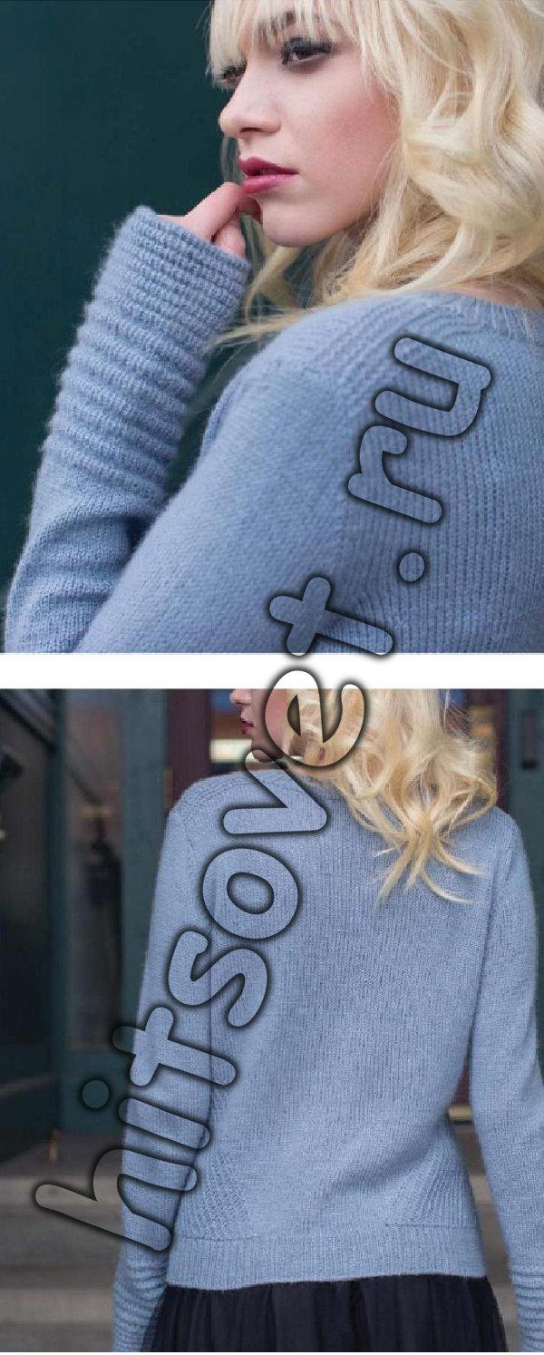 Модный джемпер для женщины, фото 3.