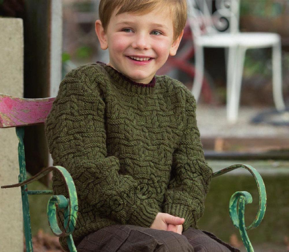 свитера вязаные спицами схемы для мальчиков