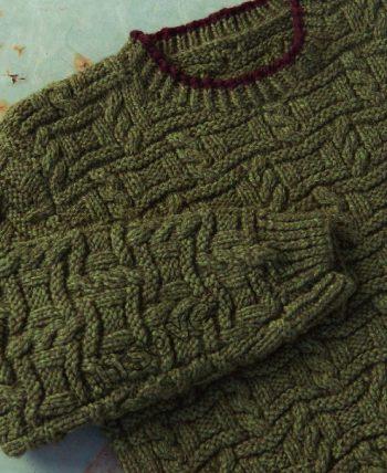 Пуловер для мальчика спицами, фото 2.