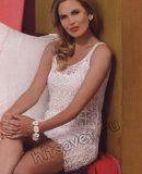 Белое мини платье, фото.