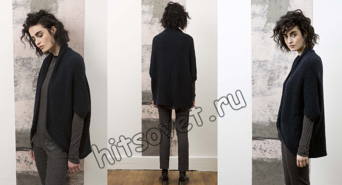 Модный жакет без рукавов, фото 2.