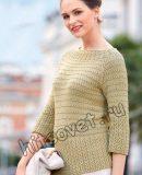Пуловер реглан для женщин, фото.