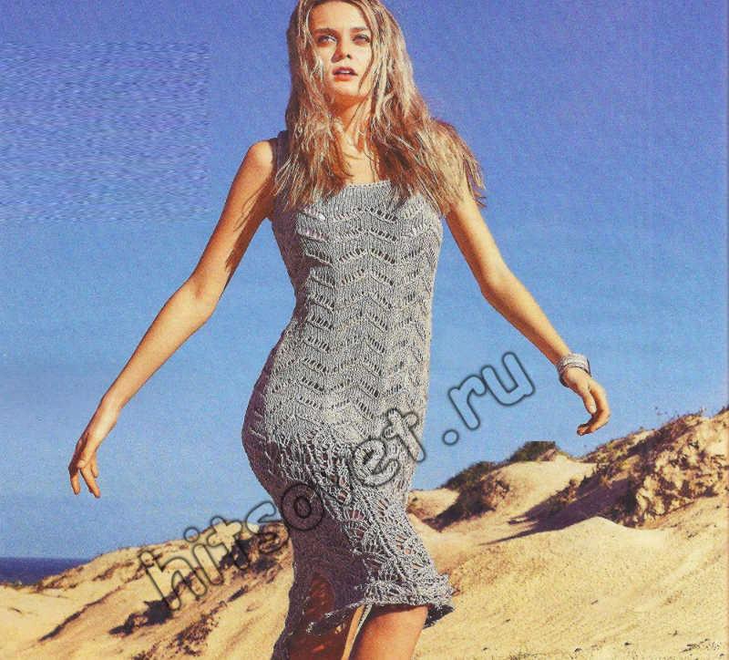 Красивое ажурное платье, фото.