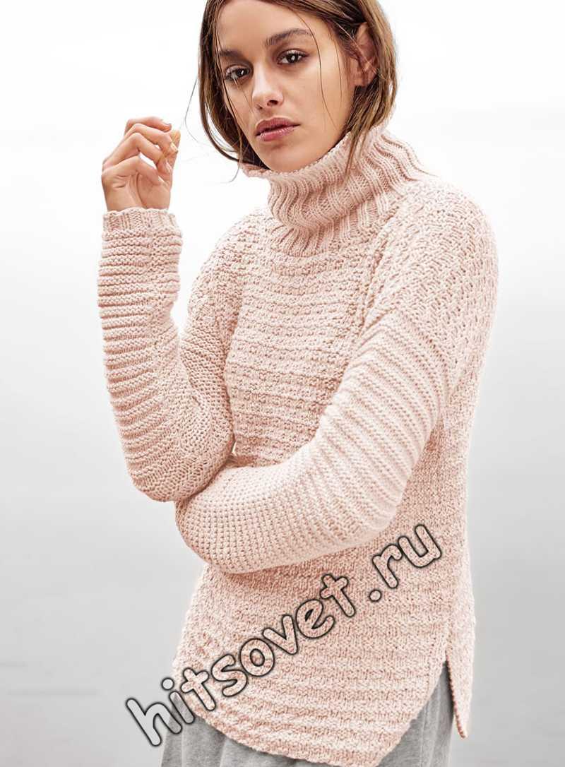 Модный свитер, фото.
