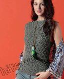 Вязание топа на лето, фото.