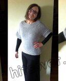 Пуловер реглан сверху, фото.