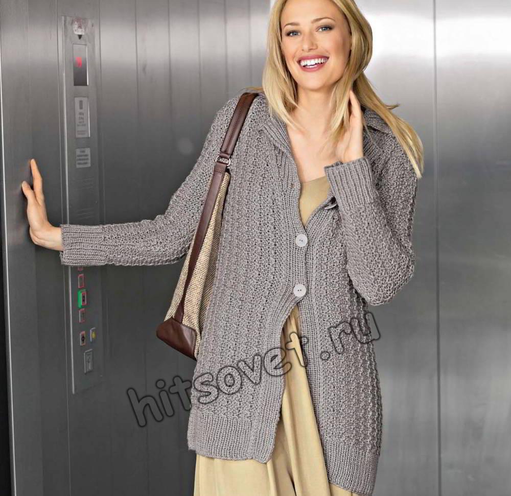 Жакет удлиненный женский, фото.