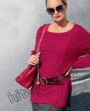 Кашемировый пуловер, фото.