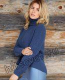 Модный женский свитер 2017, фото.