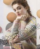 Меланжевый свитер, фото 1.
