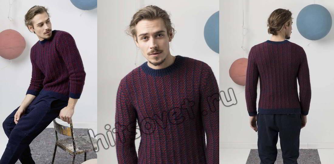Пуловер для мужчин, фото 1.