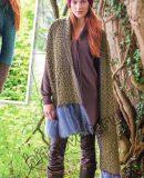 Красивый шарф крючком, фото.
