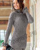 Пуловер реглан вязание, фото.