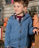 Жакет с капюшоном для мальчика, фото.