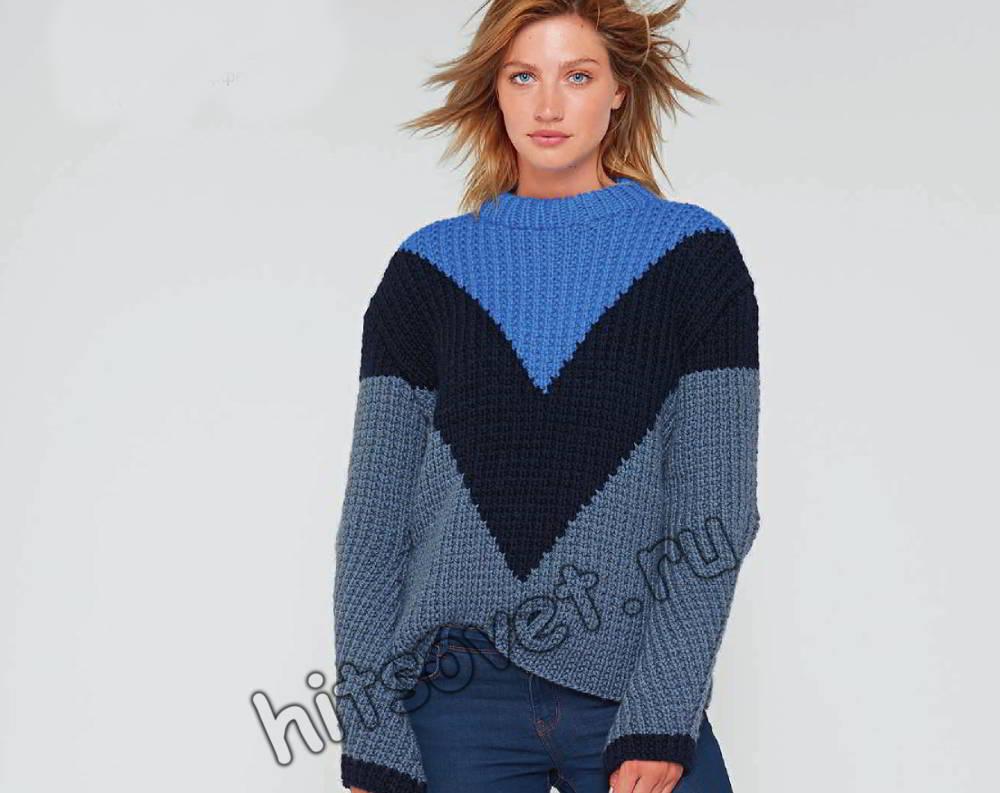 Модный свитер 2018, фото 1.
