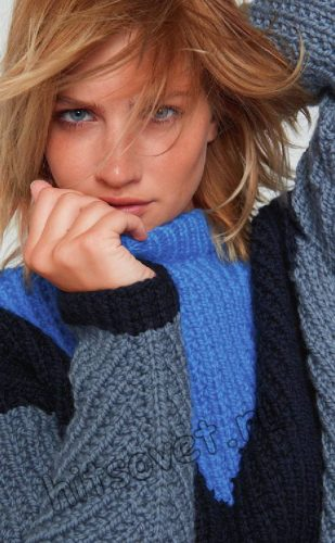 Модный свитер 2018, фото 2.