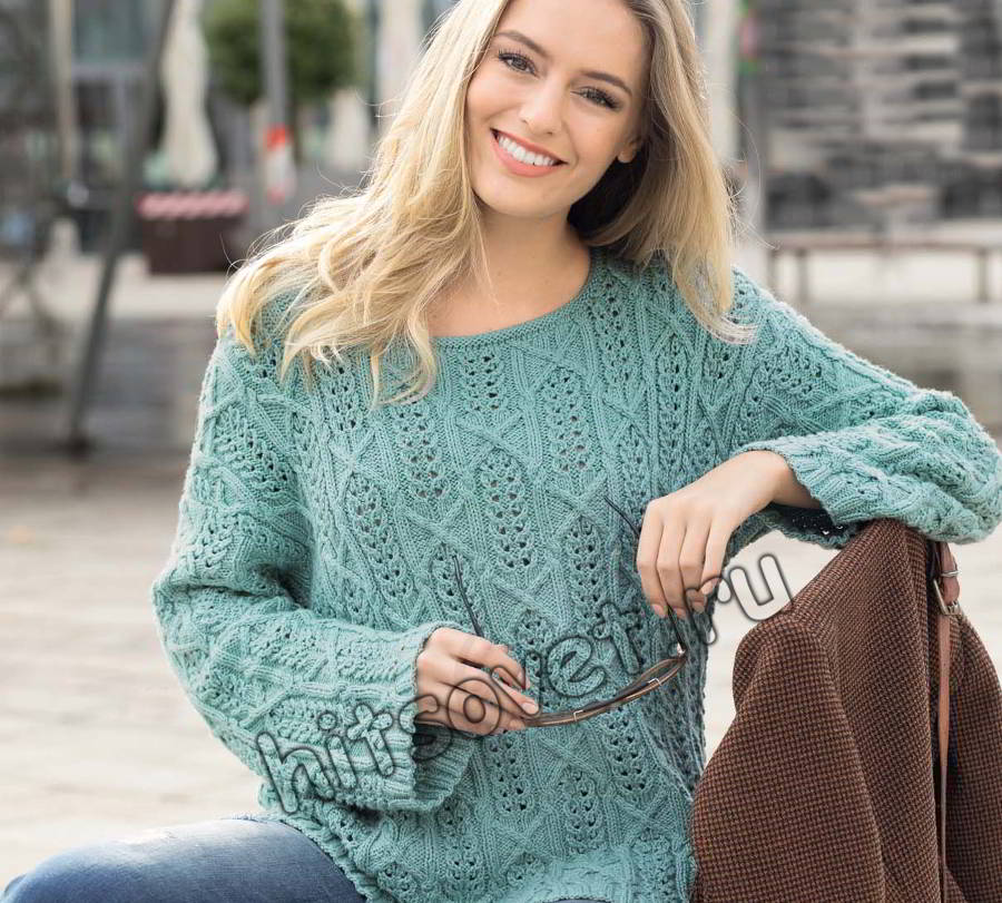 Джемпер схема вязания, фото.