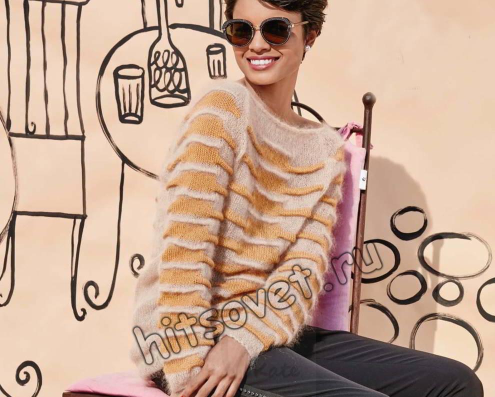 Джемпер вязание
