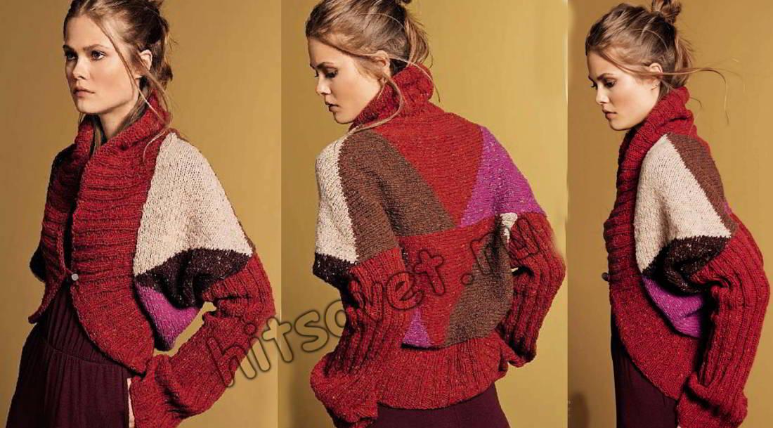 Болеро вязание