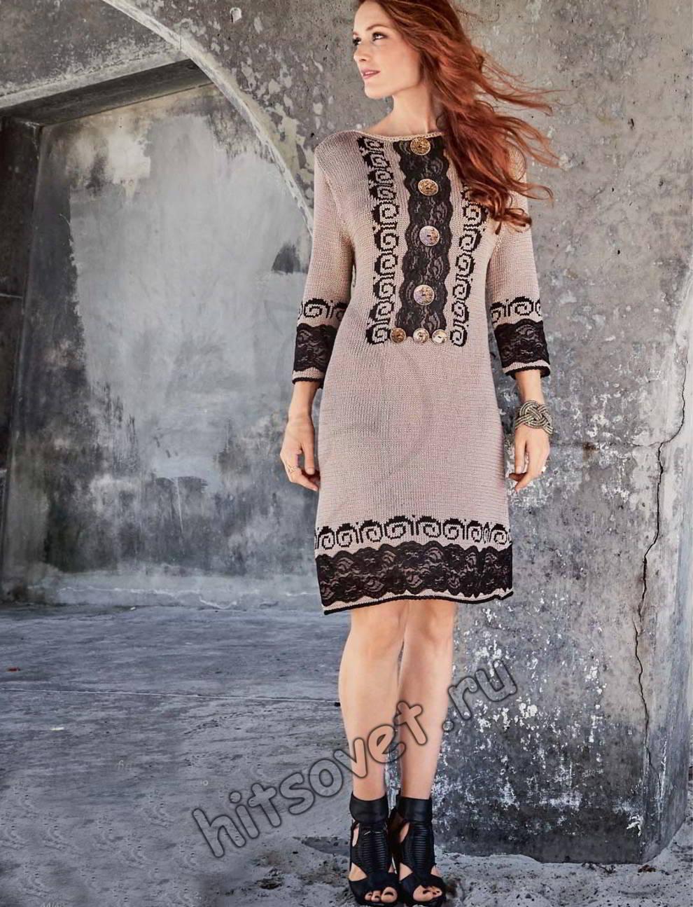 Платье жаккардовое, фото.