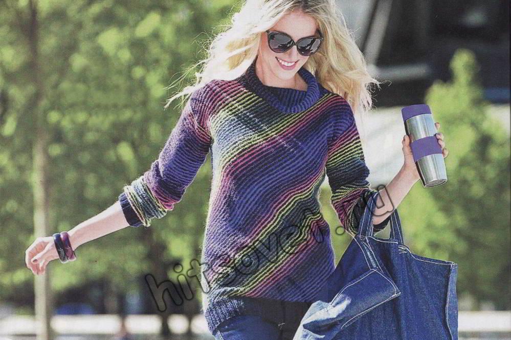 Весенний свитер, фото.