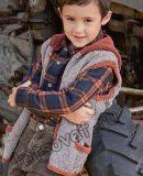 Жилет вязаный для мальчика, фото.