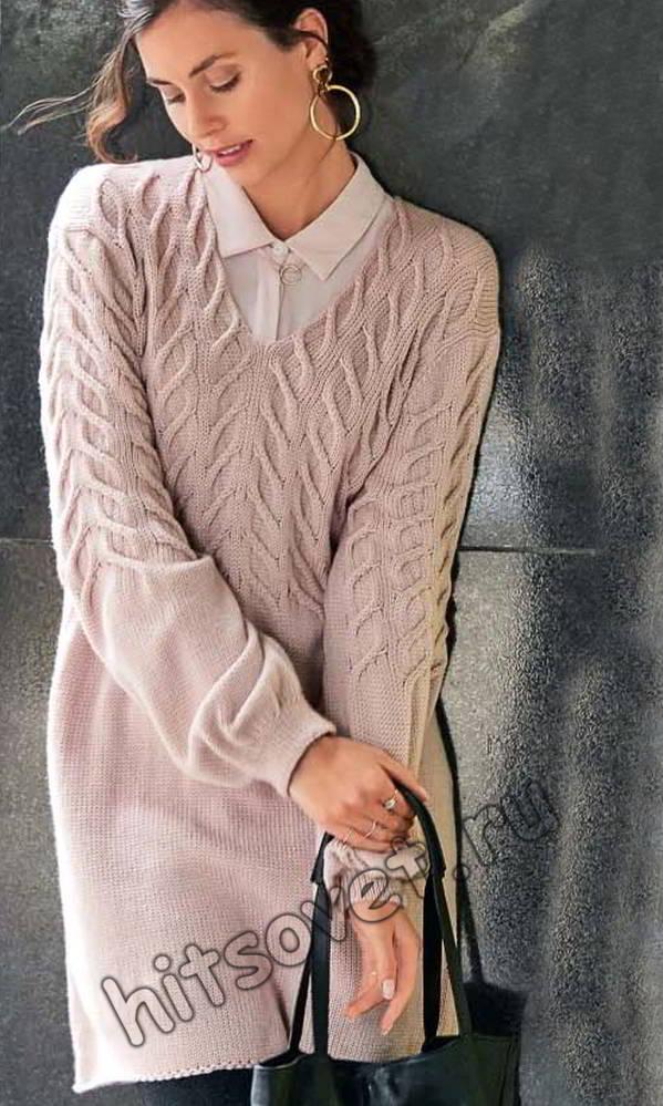 Модная туника 2018